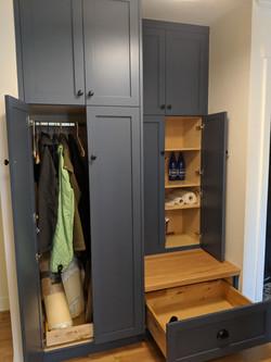 Lectus hallway cabinet Marine