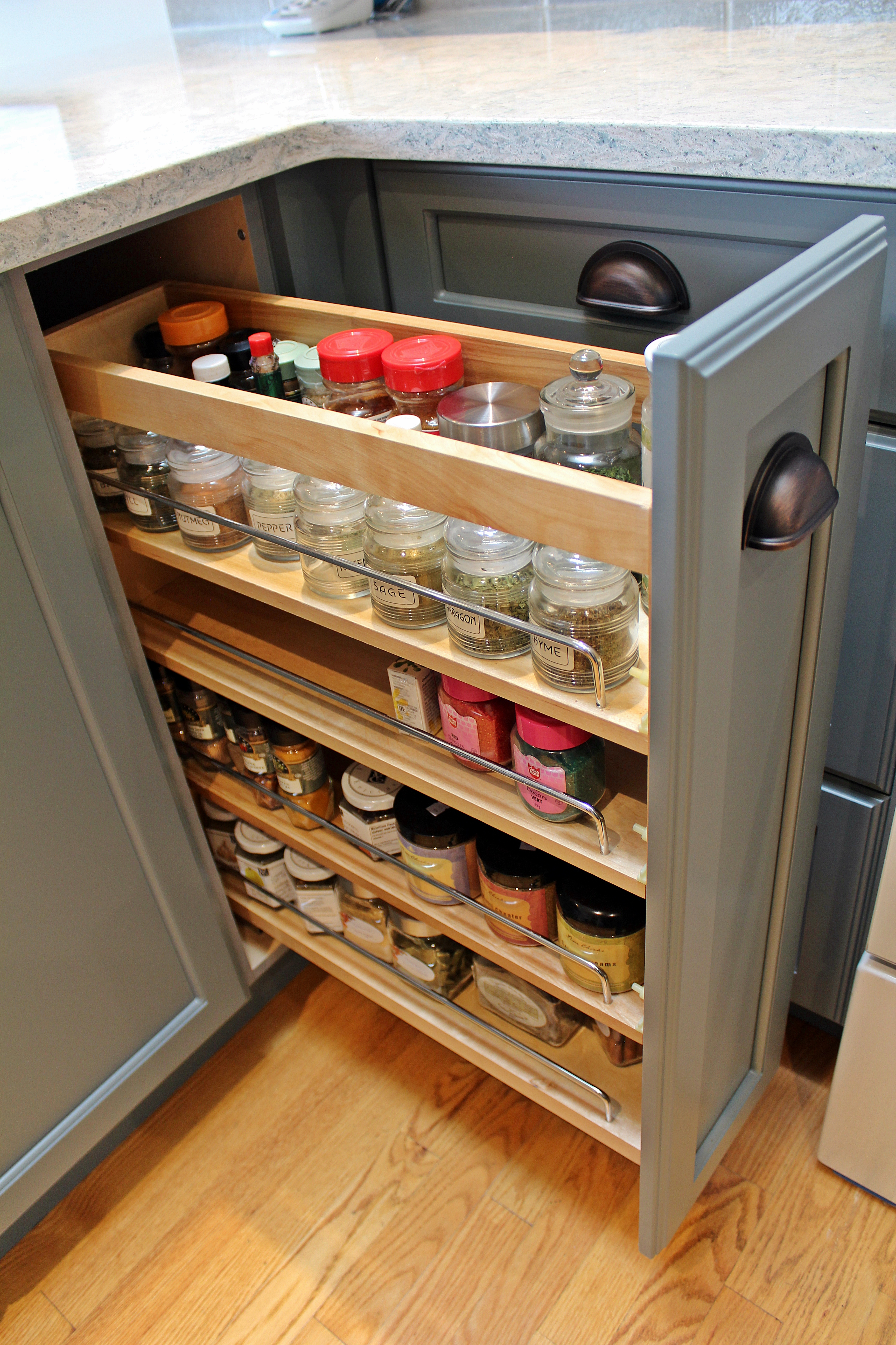 Spice drawer cabinet Victoria bc