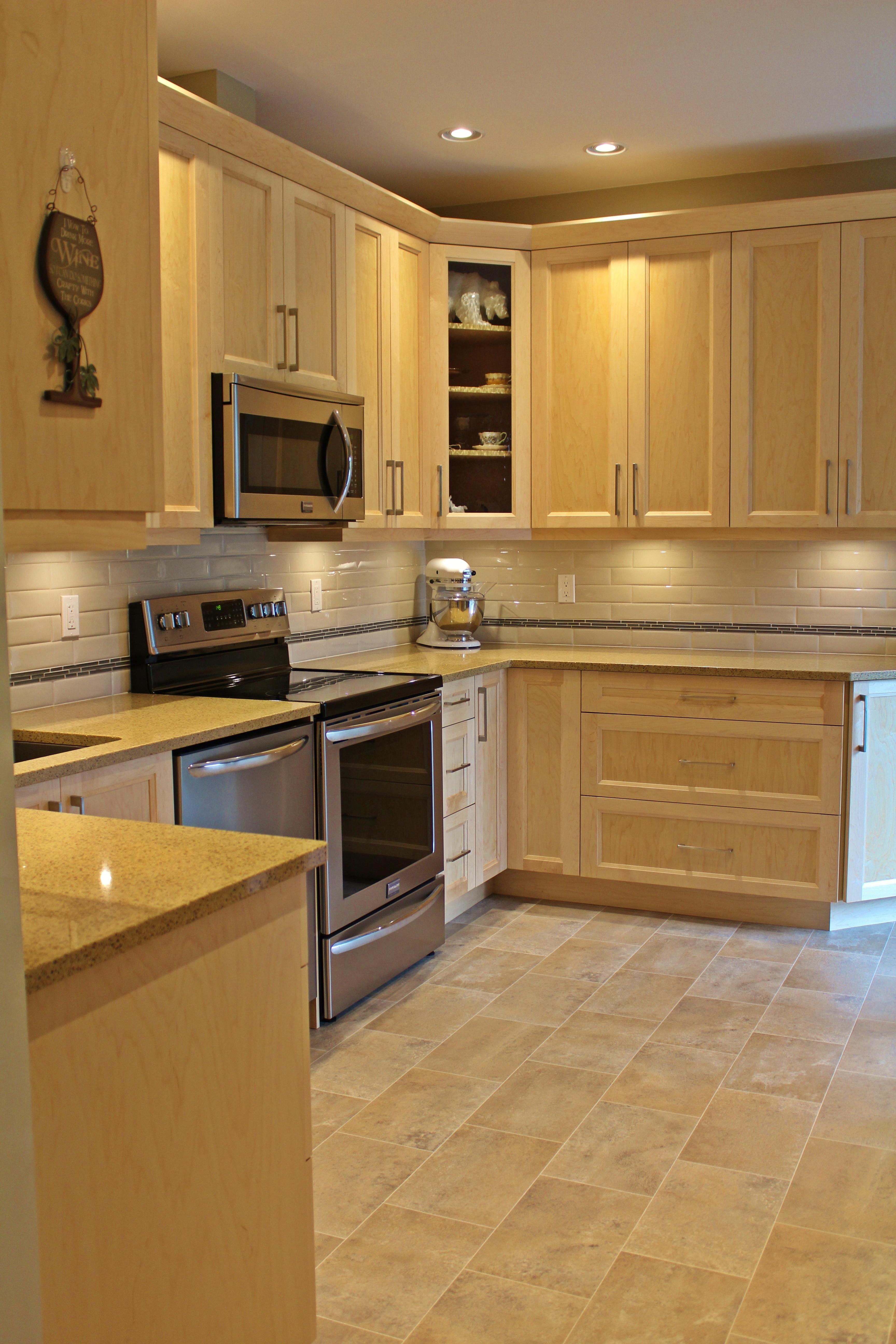 Natural shaker cabinets sidney bc