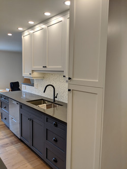 Kitchen Cabinets Marine and White