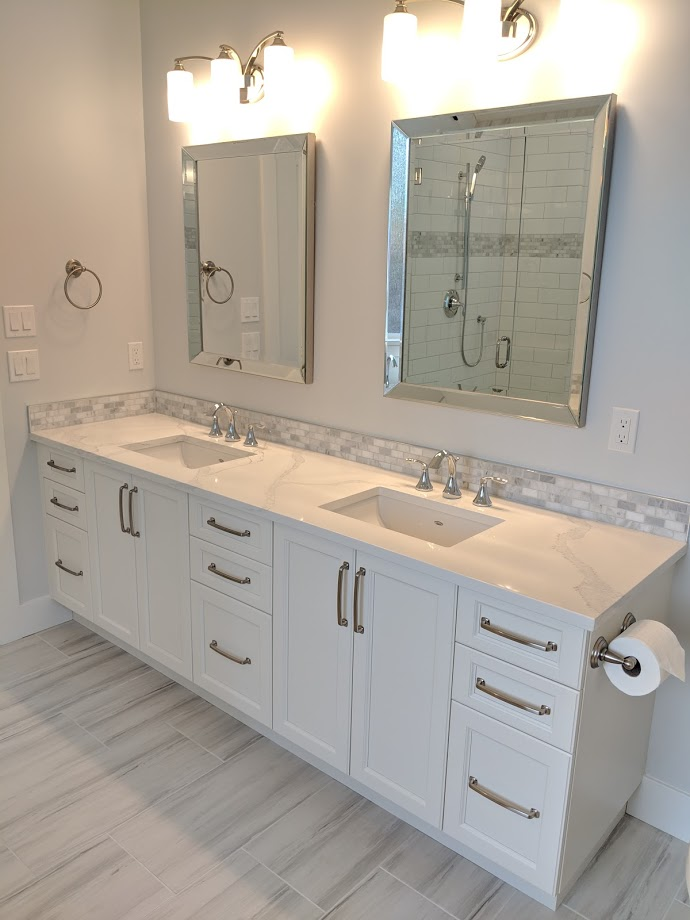 Ensuite cabinetry
