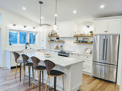 White island cabinets