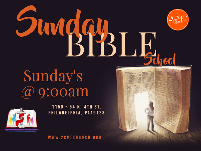 Sunday Bible School