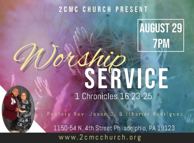 Worship Service/Servicio de Adoracion
