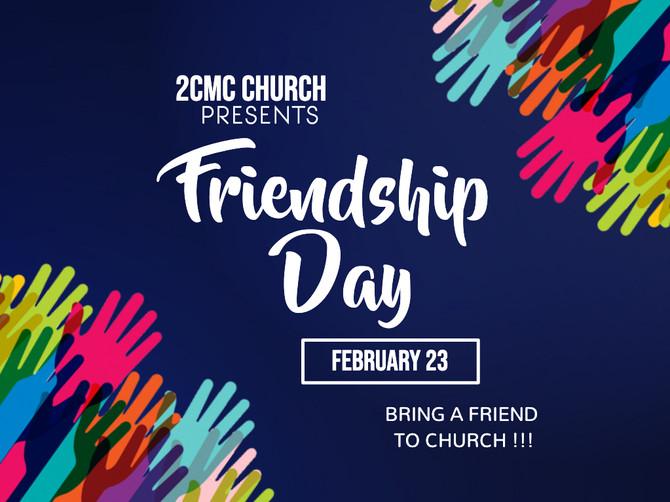 Friendship Day Service
