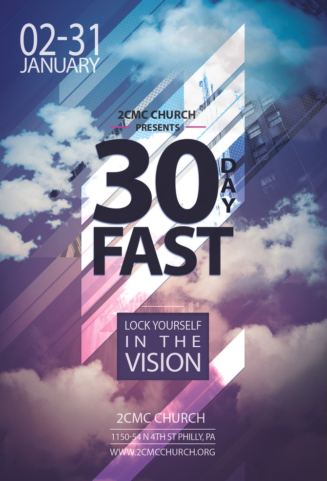 30 Day Fast- January 2-3, 2016