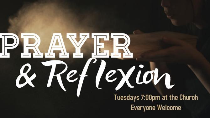 Prayer & Reflexion