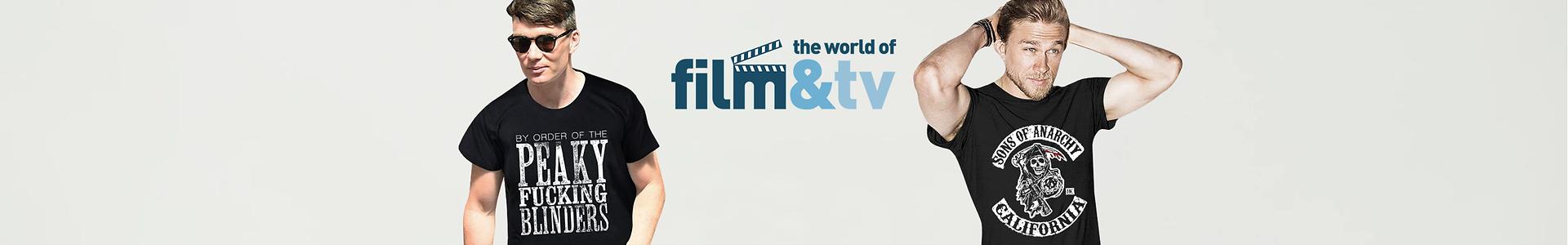 Camisetas cine y television