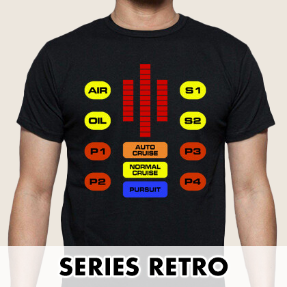 Camisetas series retro