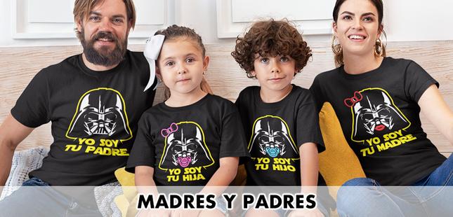 Camisetas madres y padres