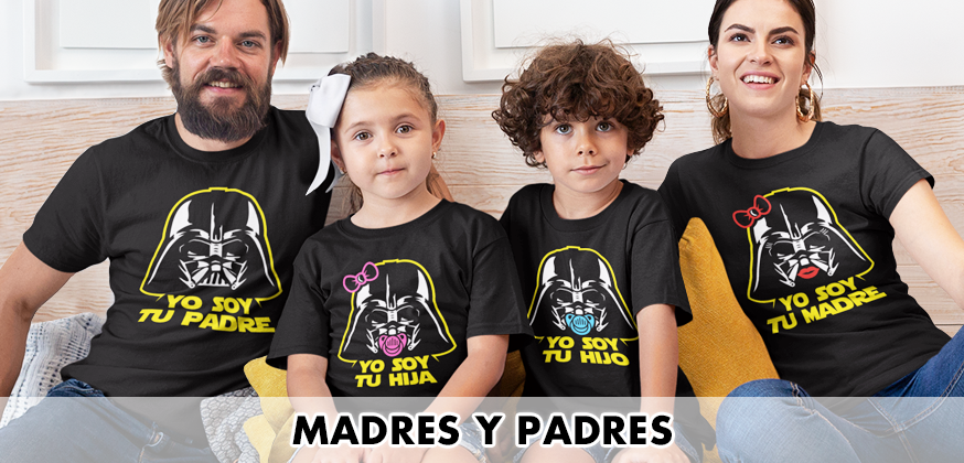Camisetas madres y padres