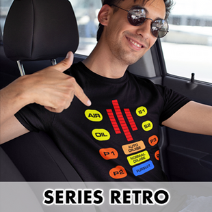 Camisetas series retro