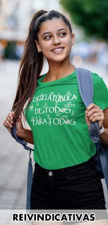 Camisetas reivindicativas