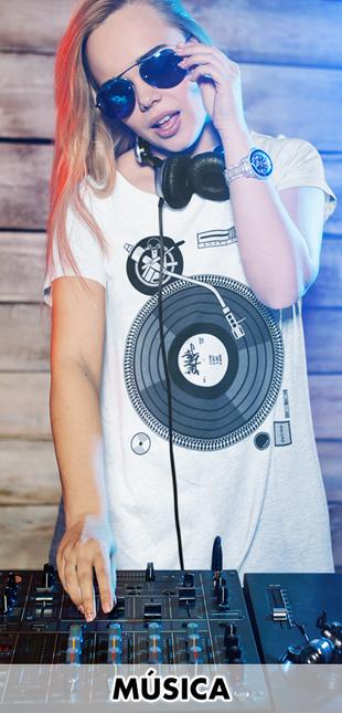 Camisetas música