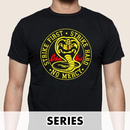 Camisetas series televisión