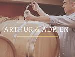 Dégustation vin Arthur et Adrien