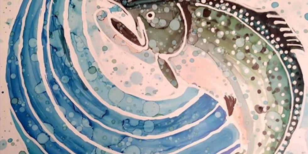 Salmon Paint Night