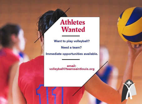 Athletes Wanted: Indoor Volleyball