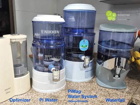 Cual es tu Sistema de Agua de Nikken? Ten en cuenta esta imagen a la hora de cambiar repuestos