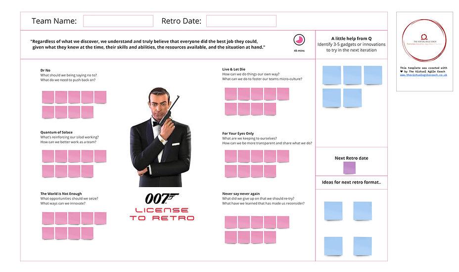 James Bond Retro