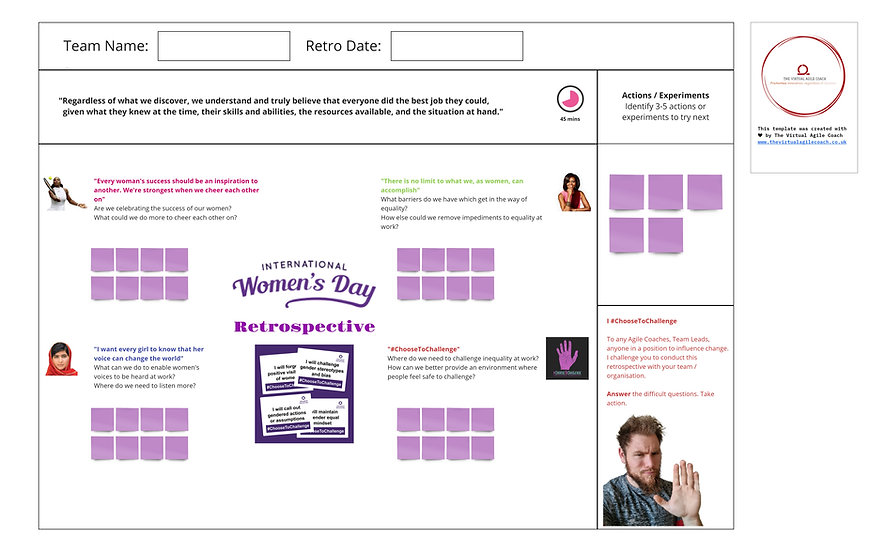 International Women's Day Retro