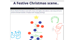 𝗧𝗵𝗲 𝗔𝗴𝗶𝗹𝗲 𝗔𝗱𝘃𝗲𝗻𝘁 𝗖𝗮𝗹𝗲𝗻𝗱𝗮𝗿 - 𝗗𝗮𝘆 4 - A festive Christmas scene