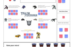 #FunRetrospectives - The Transformers Retro