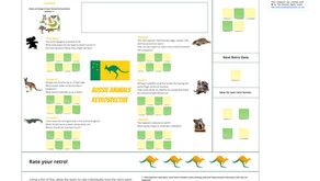 #FunRetrospectives - The Australian Animals Retro