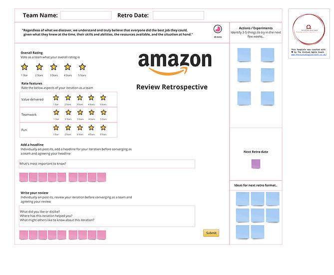 Amazon Review Retro