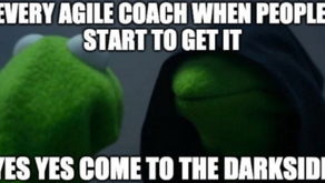 #FunFriday - When people start to get agile..