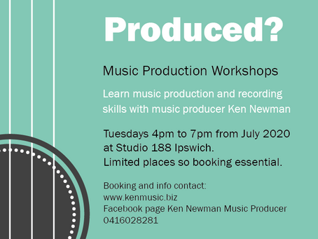 Music Production Workshops at Studio 188