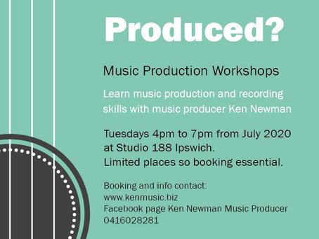 Music Production Workshops at Studio 188
