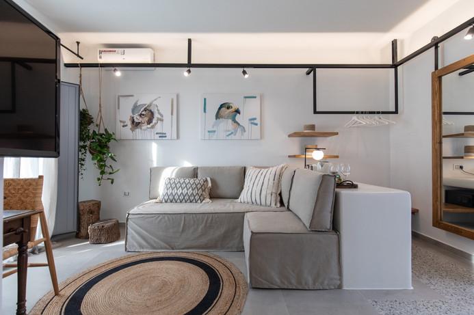 Living room , Junior suite 2, Artemis Hotel