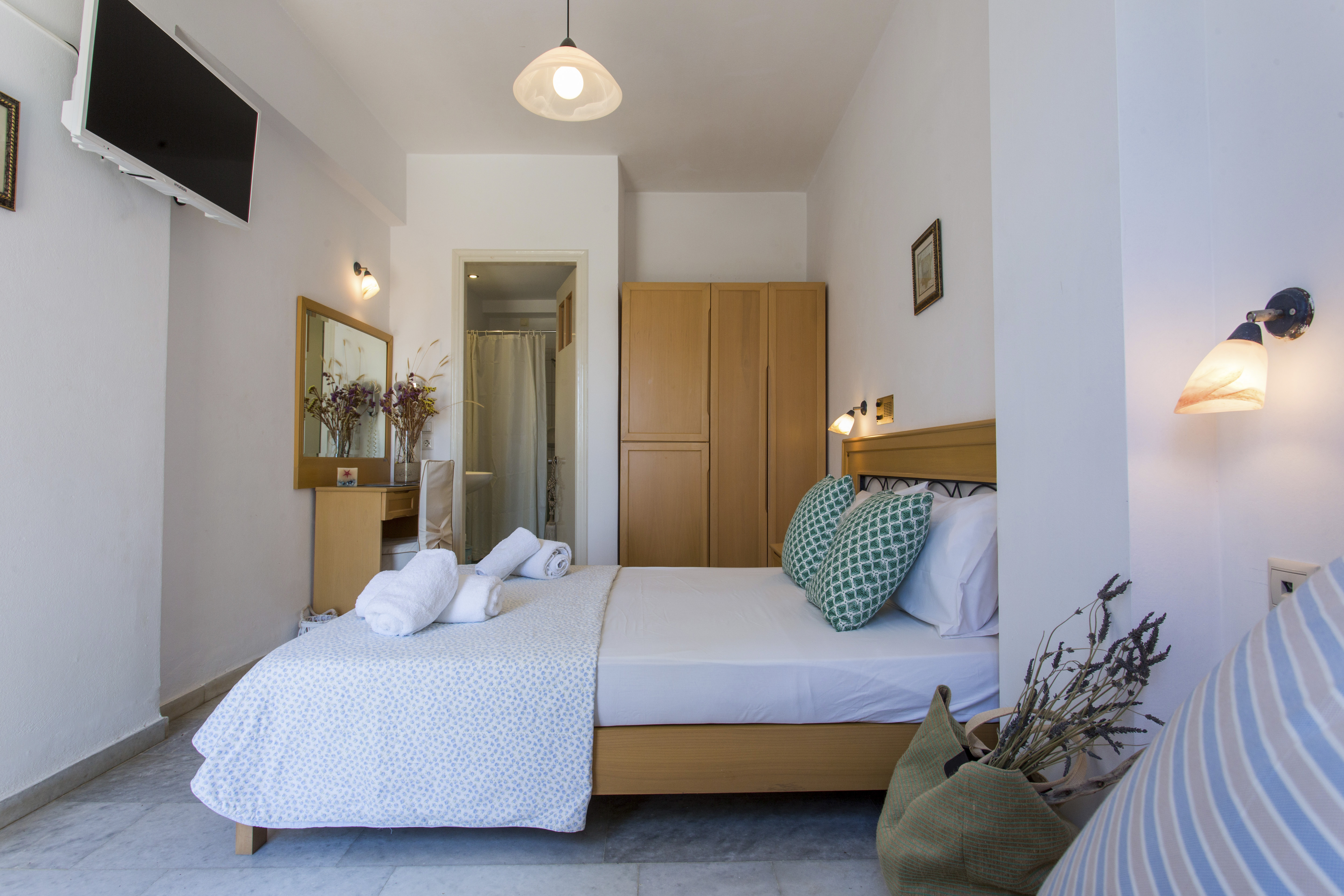 double room, agia anna naxos