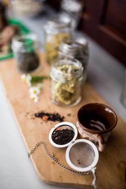 herbs and teas