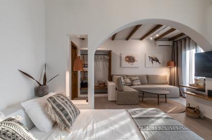 junior suite 1, artemis hotel, agia anna, Naxos island