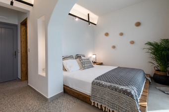 Bed room, Junior suite 2, Artemis hotel, Agia Anna, Naxos island