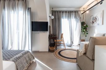 Living room, junior suite 2 , Artemis hotel