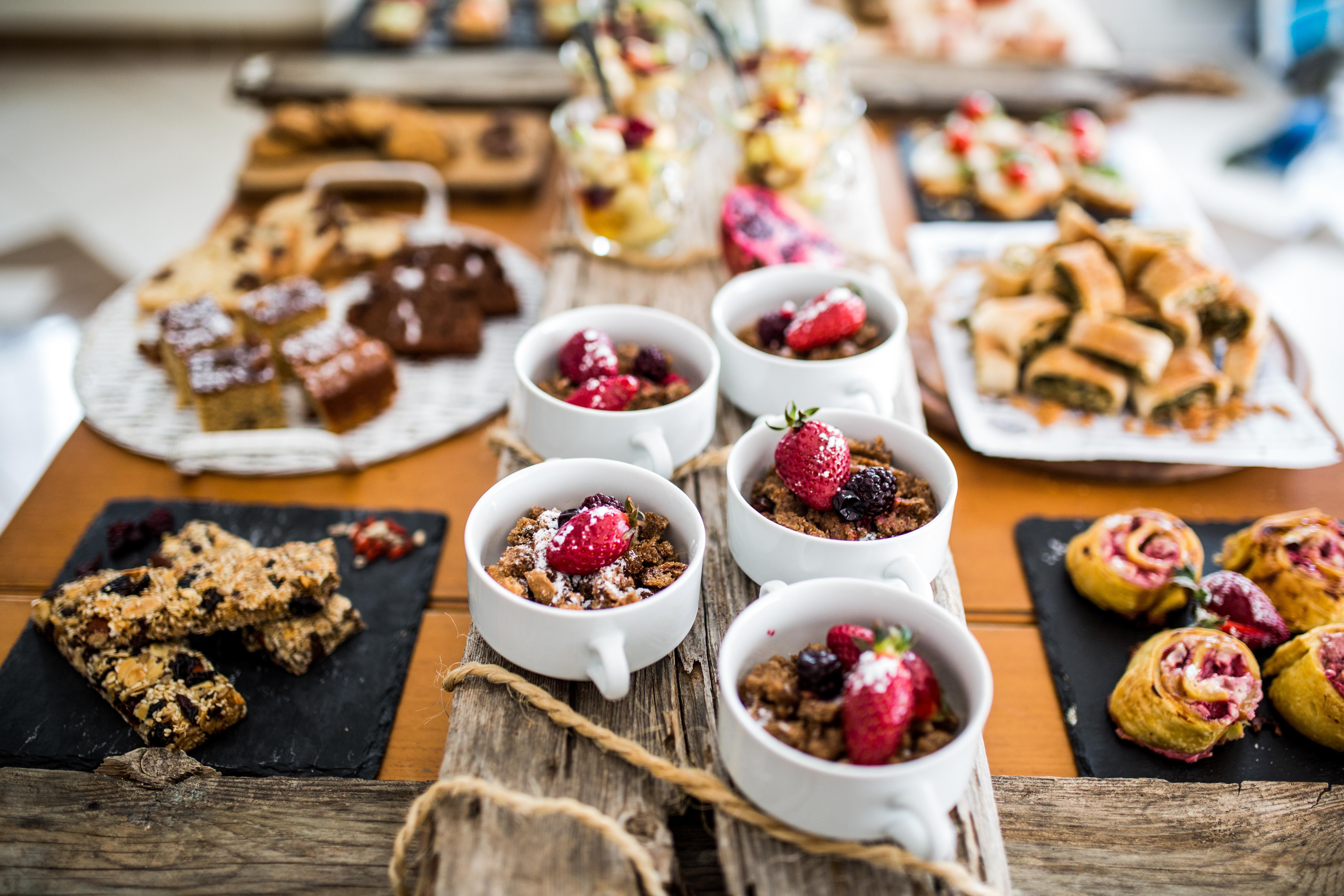 breakfast buffet i artemis hotel naxos