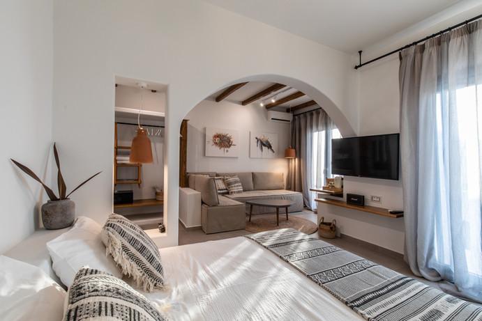 junior suite 1, artemis hotel