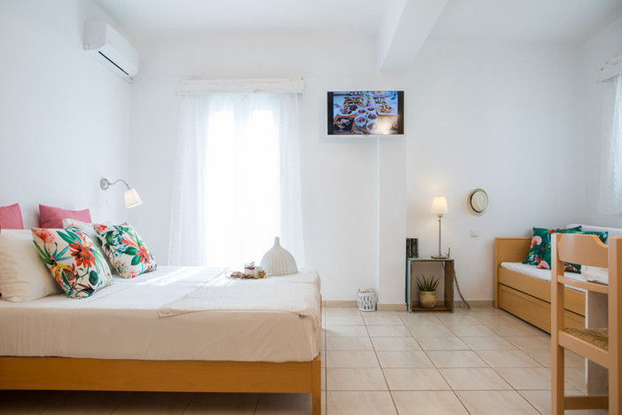 room for 4 persons,Naxos