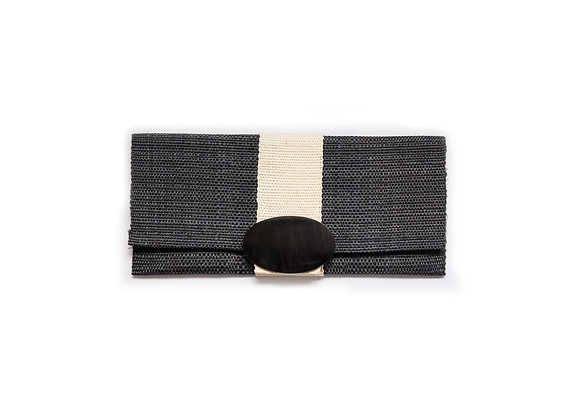 Sisal Clutch blue