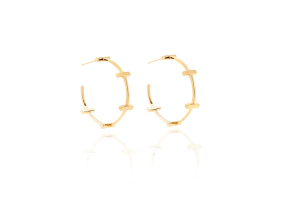 Scala Hoops earrings