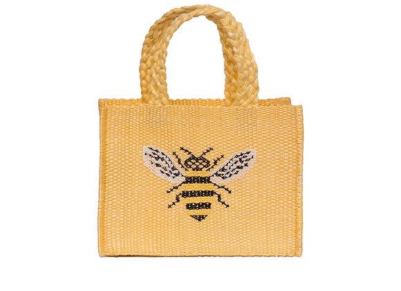 Mini Henequen Fibre Bag Bee