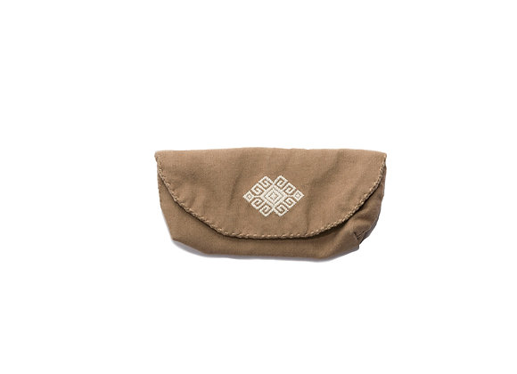 Glasses Case Brown
