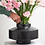 Thumbnail: Girovago black marble vase