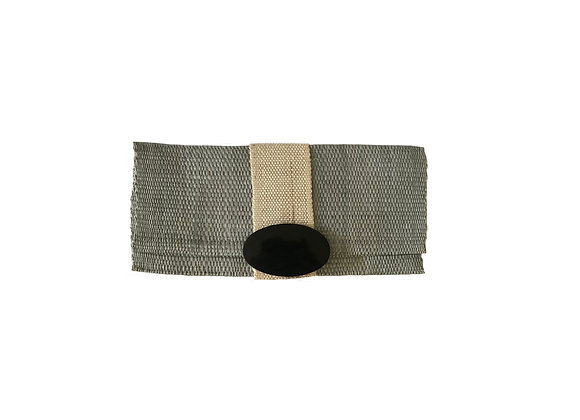 Sisal Clutch green