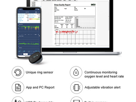 SpO2 Monitor: help athletes effectively training