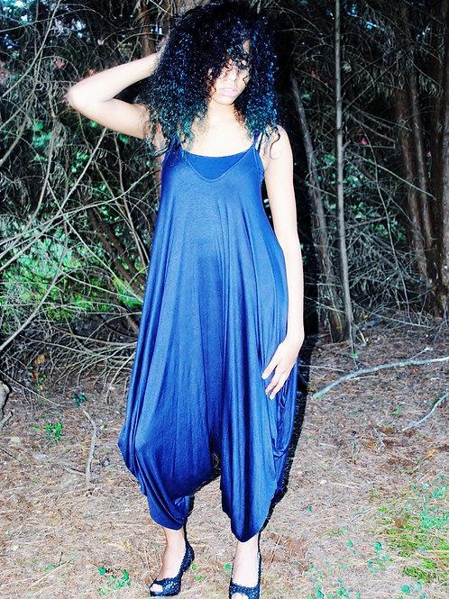 love-in blue jumpsuit
