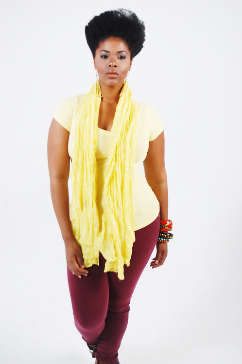 golden star scarf lm